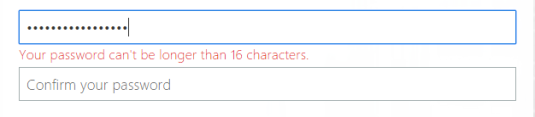 More More Than 16 Characters